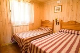 Bungalow de 2 habitaciones - 2 Camas individuales