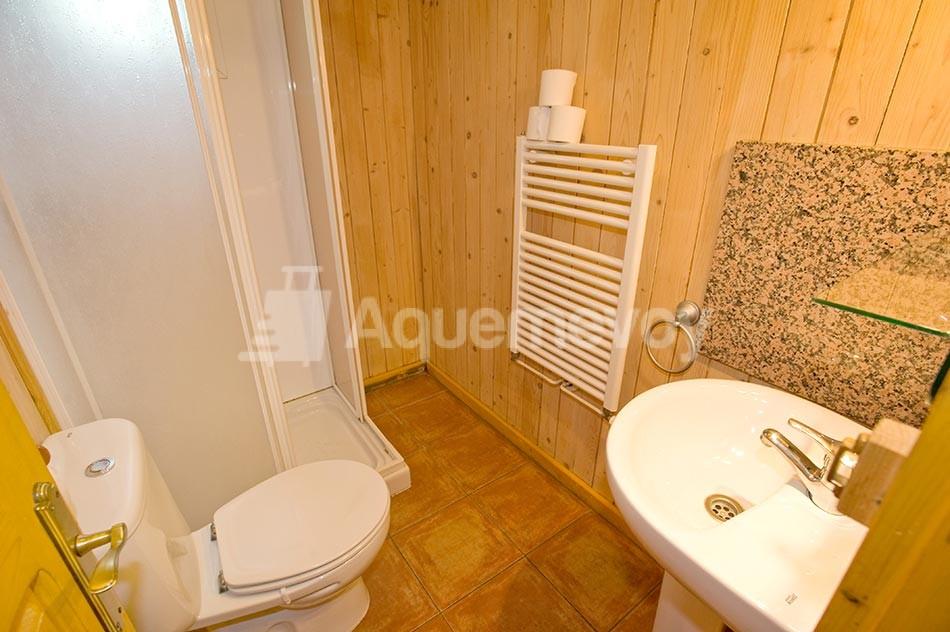 Bungalow de 2 habitaciones - baño
