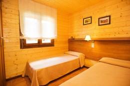 Bungalow de 2 habitaciones superior - 2 camas individuales