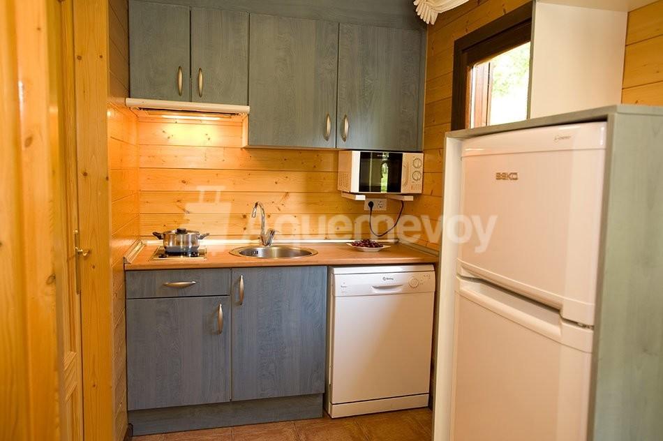 Bungalow de 2 habitaciones superior - cocina