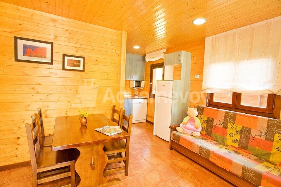 Bungalow de 2 habitaciones superior - salón-comedor