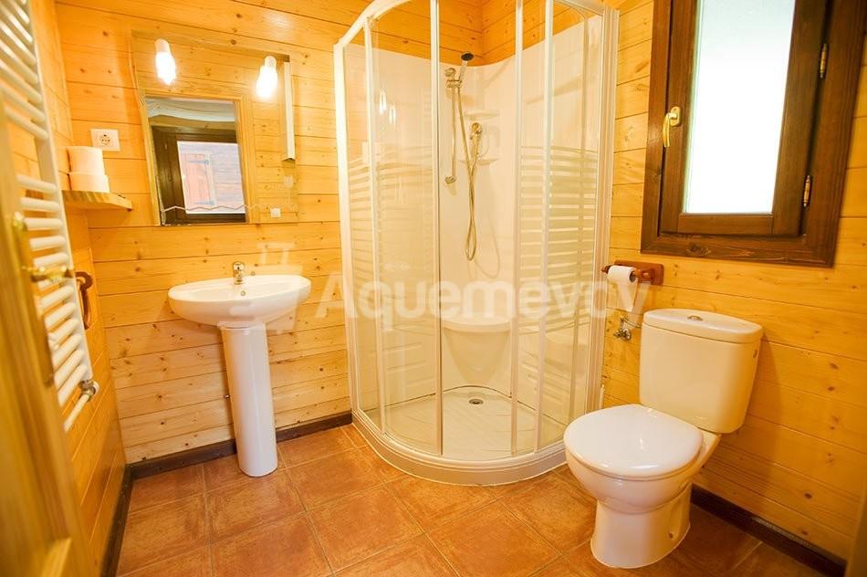 Bungalow de 2 habitaciones superior - baño